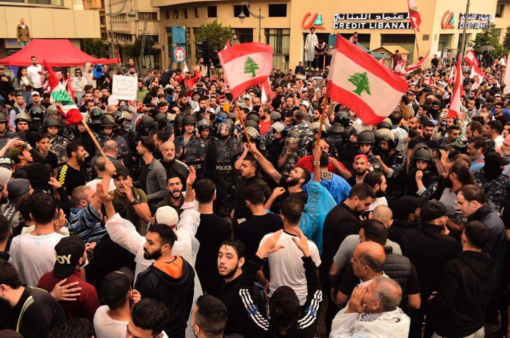 Ливанское восстание.